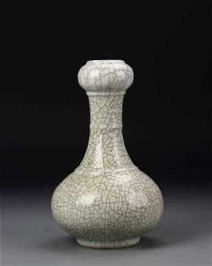 Chinese Garlic Head Vase