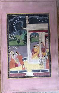 Indian Rajasthani Ragini painting