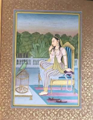 Rajasthani Indian Miniature Painting