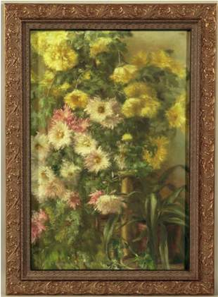Oil on Canvas Signed Carducius Plantagenet Ream