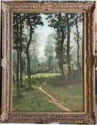 Oil on canvas Signed Charles Francois Daubigny