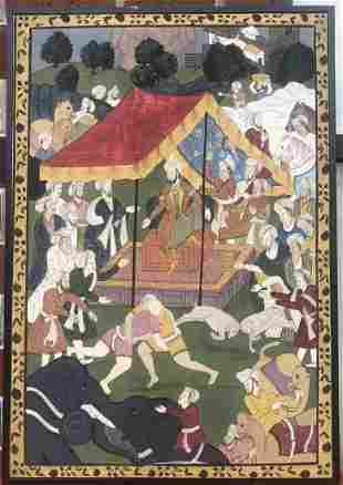 Indian Painting on Board