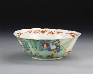Chinese Famille Rose Bowl