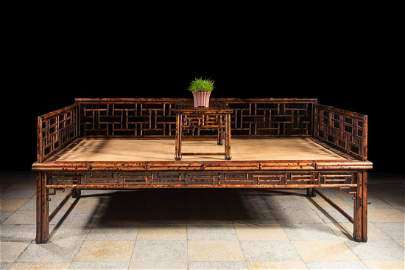 A Bamboo Arhat Bed
