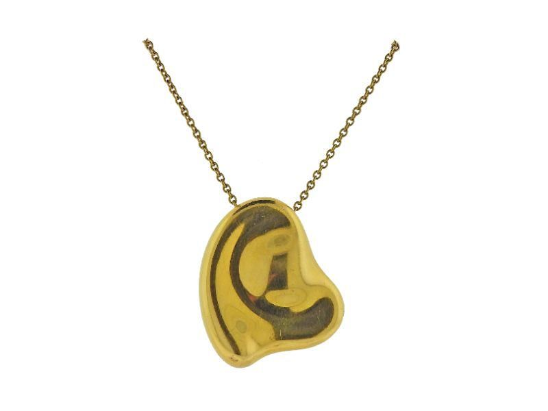 Tiffany & Co Elsa Peretti 18k Gold Heart Pendant