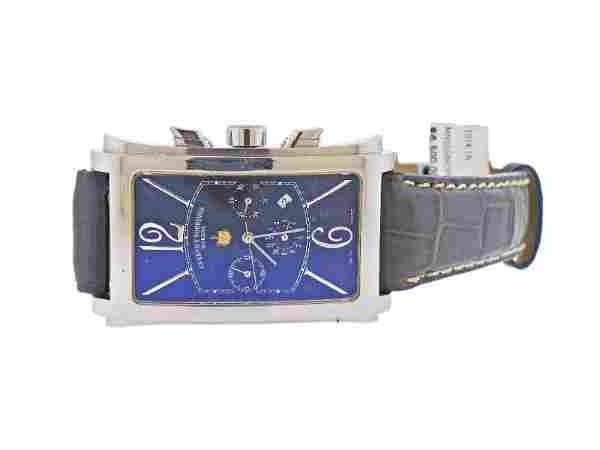 Cuervo Y Sobrinos Prominente Cronografo Chronograph