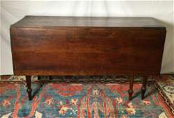 Early Drop Leaf Table with 1 Draw