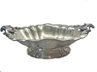 Silver Italian Centerpiece Tazza