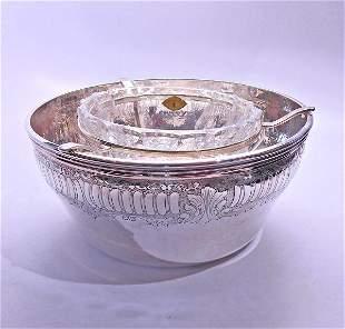 Buccellati Prestigio Mario Sterling Silver Crystal