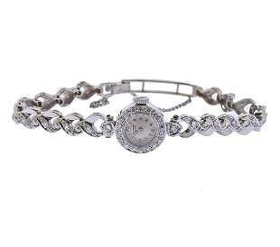 Tissot Mid Century 18k 14k Gold Diamond Lady's Watch