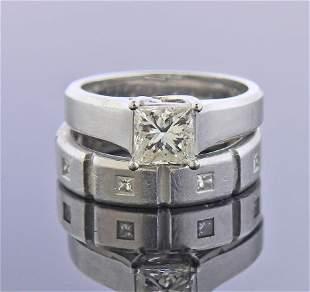 Jeff Cooper AGA 1.00ct L Si1 Princess Diamond