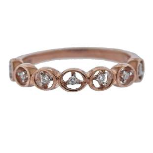 Kallati Rose Gold Diamond Ring