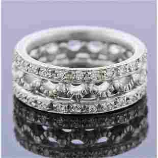 Doris Panos 18k Gold Diamond Band Ring