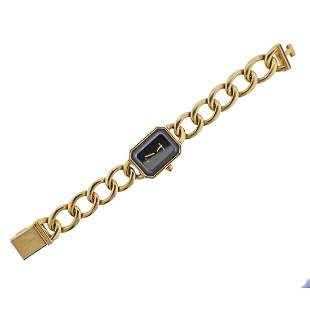 Chanel Premiere 18k Gold Lady's Watch