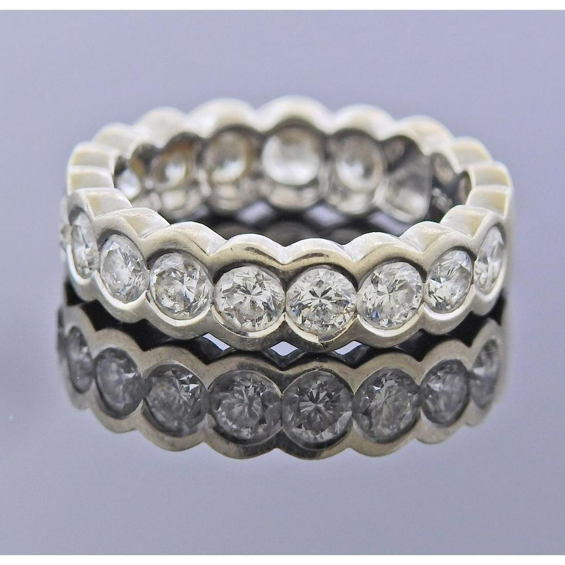 Sonia B 18k Gold Diamond Band Ring