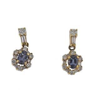 Mark Henry 18k Gold 0.68ctw Alexandrite Diamond