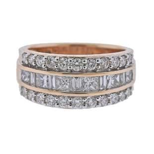 Kallati 18k Gold Diamond Band Ring