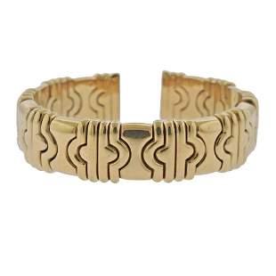 Bvlgari Bulgari Parentesi 18k Gold Cuff Bracelet