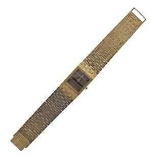 Piaget 1970s 18k Gold Tiger's Eye Watch