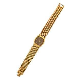 Piaget 1970s 18k Gold Watch