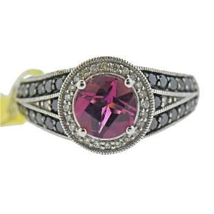 Le Vian LeVian Gold Diamond Pink Tourmaline Ring