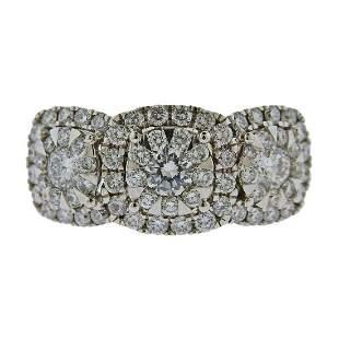 Memoire 18k Gold 1.41ctw Diamond Ring