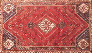 Handwoven Persian Abadeh Rea Rug 8 6 x 5 2