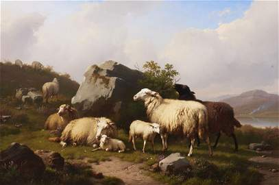 Eugene Verboekhoeven, Belgium (1798/99-1881), Sheep on