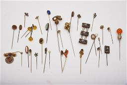 Collection of Victorian Hat Pins