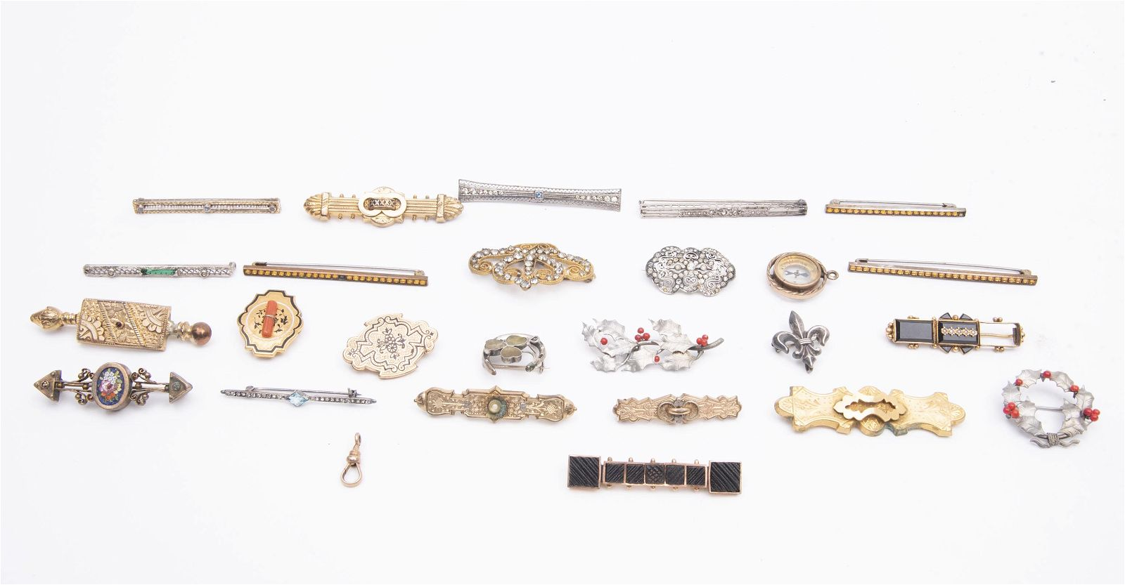 Collection of Victorian Bar Pins