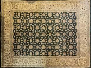 "Handwoven Persian Kashan Room Rug 8' x 10' 7"""