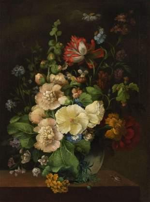 Dutch School, 18th Century. Floral Still Life
