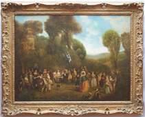 Follower of Jean-Antoine Watteau, France, The