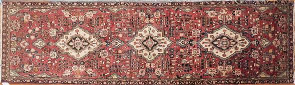 Handwoven Persian Hamadan Runner 2 feet 10 inches x 10