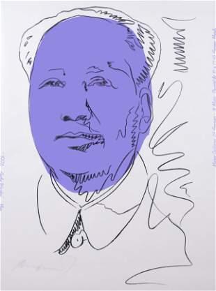 Andy Warhol, American , Mao, 1974, silkscreen on paper,