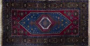 """Semi Antique Turkish Area Rug 4' x 7' 8"""""""