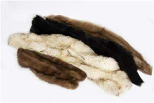 Four Fur Collars, Mink and Fox