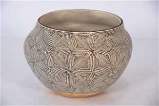 Rebecca Lucario, New Mexico 1951-, ceramic