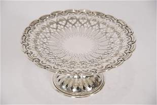 Tiffany & Co. Sterling Silver Pastry Compote