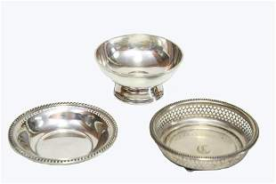 Collection of Three Sterling Silver Pieces