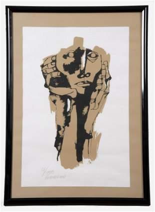 Oswaldo Guayasamin, Ecuadorian (1919-1999), Untitled,