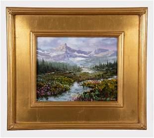 Thomas Dedecker, American , Rocky Mountain Spring Melt,
