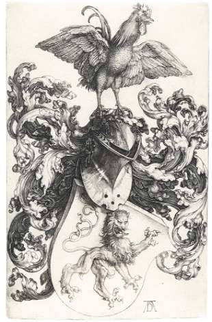 Coat of Arms with a Cock