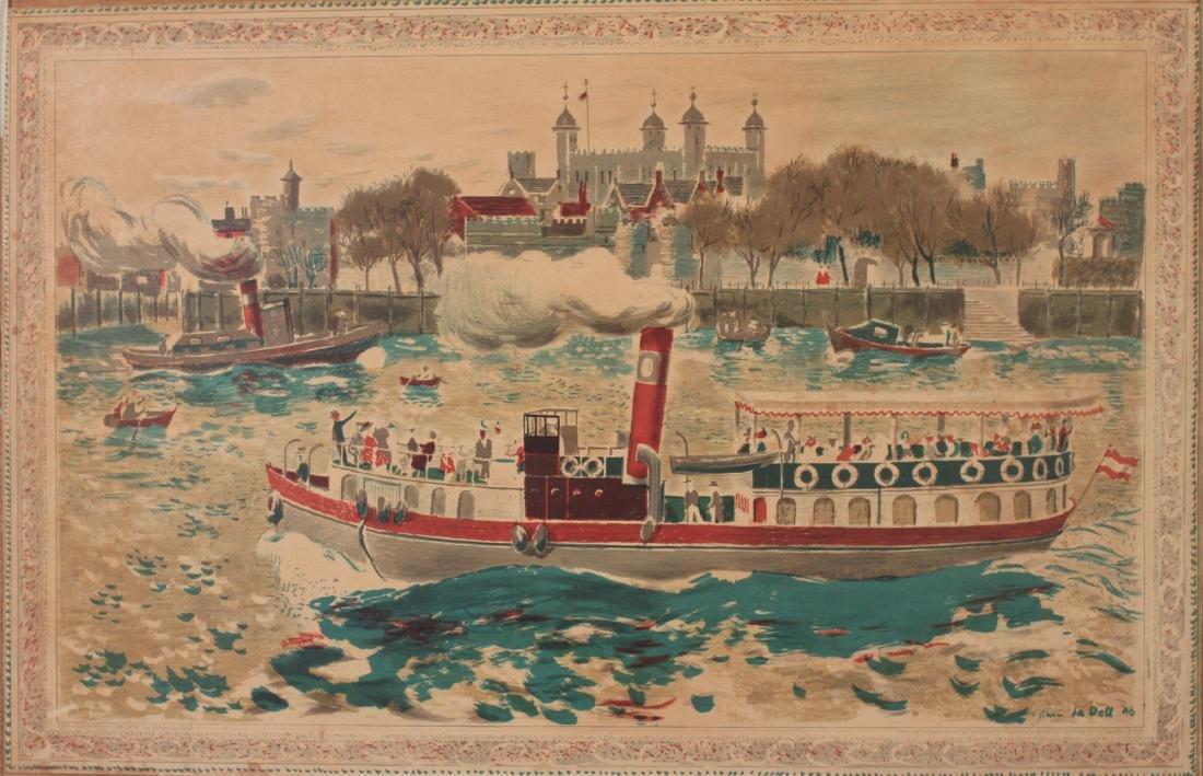 Edwin La Dell (1914-1970) The Tower of London, SP6