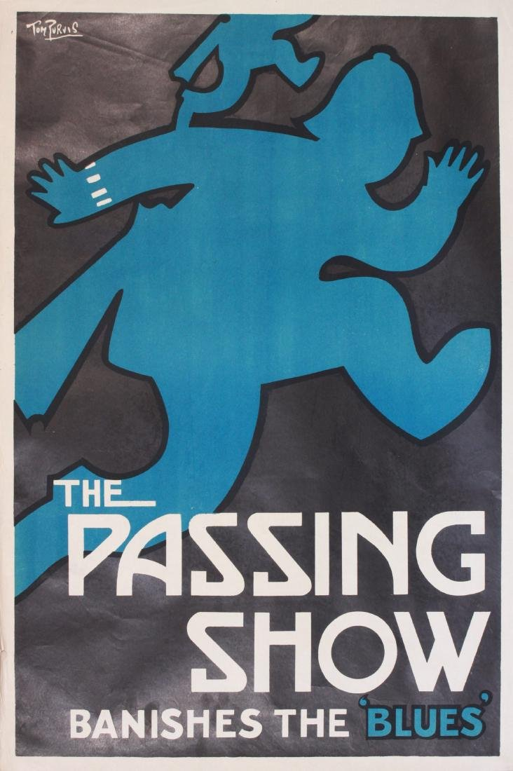 Tom Purvis (1888-1957) The Passing Show Banishes the