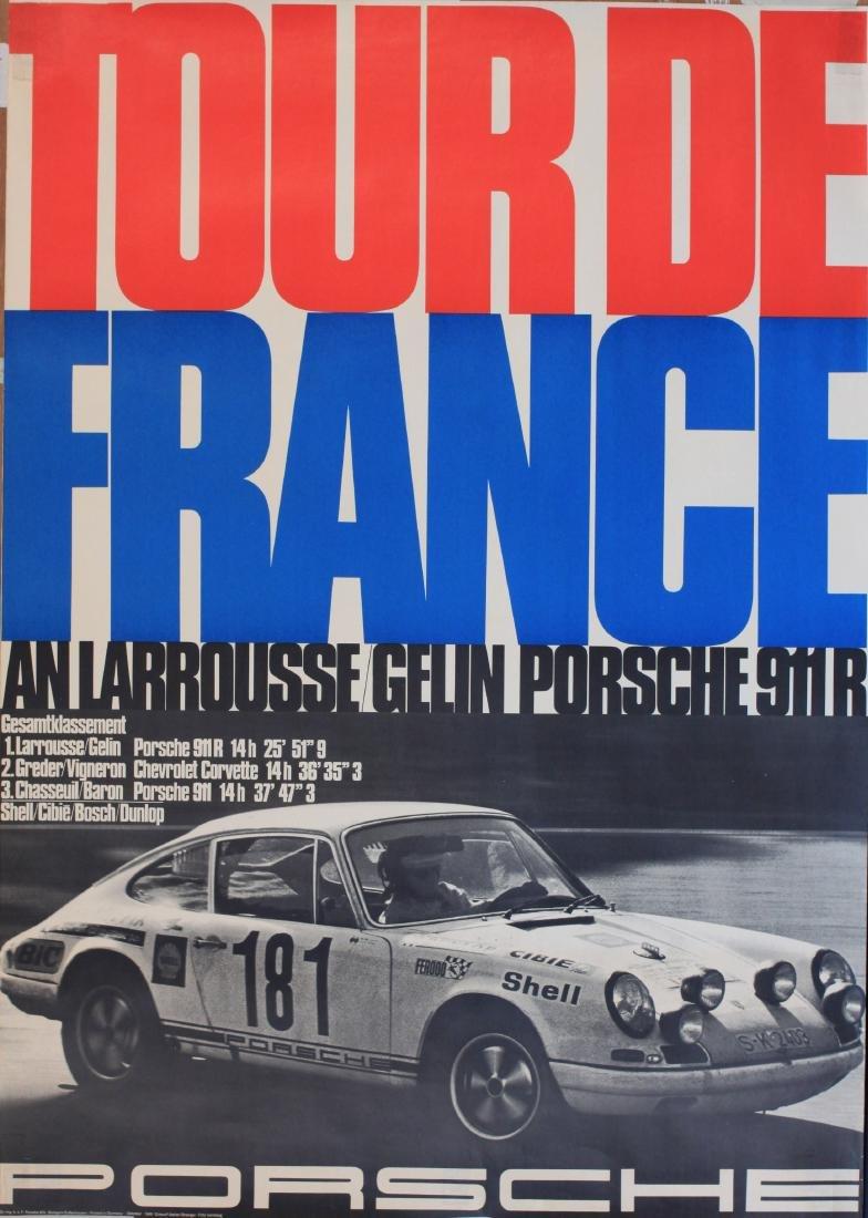 Foto Isenberg Tour de France, original Porsche Factory