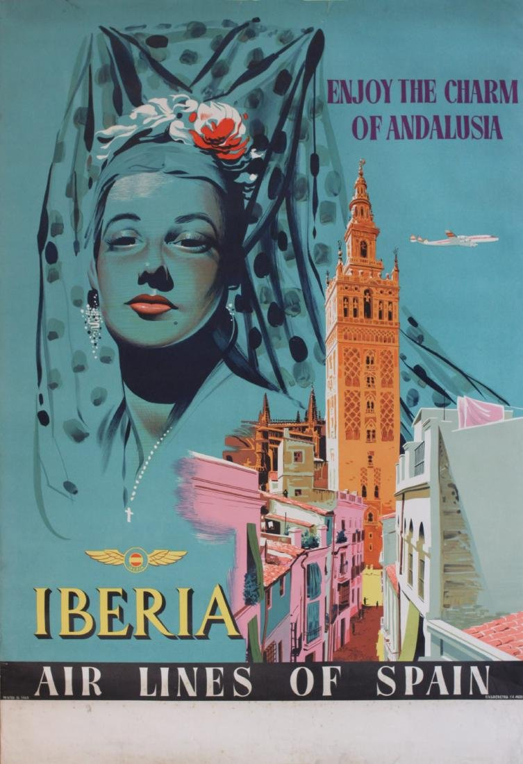 Anon Enjoy the charm of Andalusia, Iberia Air Lines,