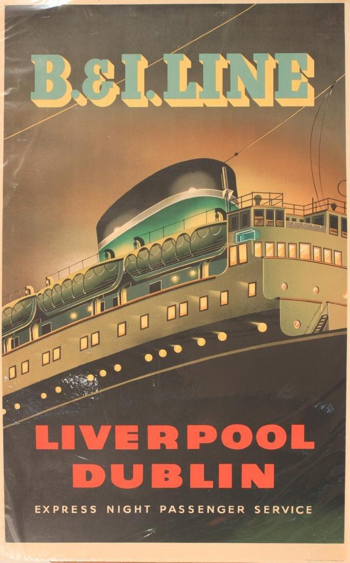 Anon B&I Line Liverpool Dublin Express Night Passenger