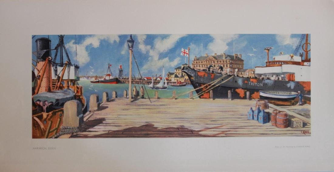Charles King (dates unknown) Harwich and Leigh-on-Sea,