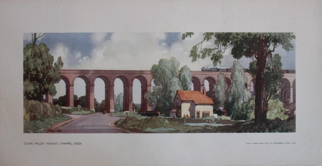 Leonard Squirrell (1893-1979) Colne Valley Viaduct